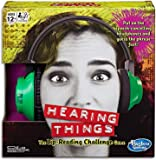 Hasbro Gaming Hearing Things Game, Ages 12 Years and up