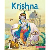Large Print: Krishna The Adorable God : Indian Mythology Large Print