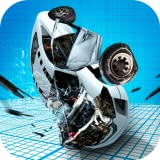 Sports Car Demolisher Accident - Breaking Crash Test Simulator