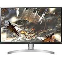 "LG 27UL650 Monitor 27"" Ultra HD 4K LED IPS HDR 400, 3840 x 2160, Radeon FreeSync 60Hz, 1x Display Port, 2x HDMI, Uscita Audio, Multitasking, Altezza Regolabiile"
