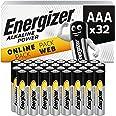Energizer batterijen AAA, alkaline Power, 32 stuks