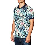 Tommy Hilfiger All Over Flower Print Reg Polo Camicia Uomo