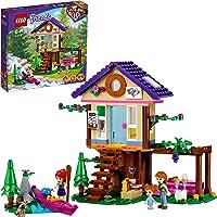 LEGO Friends La Baita nel Bosco, Casa sull'Albero Giocattolo, Costruzioni per Bambini di 6 Anni con 2 Mini Bamboline…