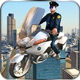Fliegende Polizei Bike Flight Simulator 3D: Chase tödliche Verbrecher Mafia Gangster in Vegas Crime...