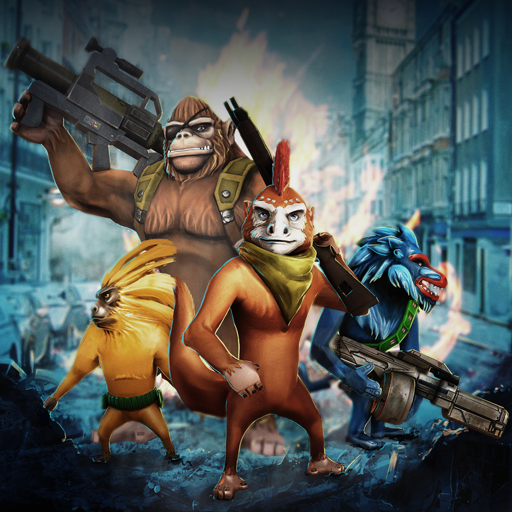 Time Monkeys - Arcade Shooter (Affen Kämpfen)