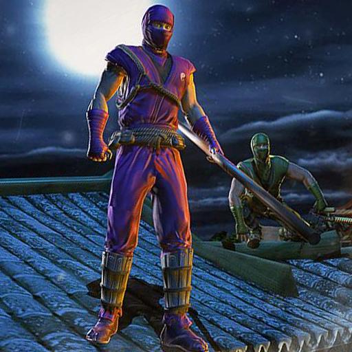 Hero Ninja Fighting Spree Krieger des Chaos Fighting 3D: Kampf mit kriminellen Geist Gangster von Vegas in der Stadt Sim Adventure Mission Spiele kostenlos für Kinder 2018