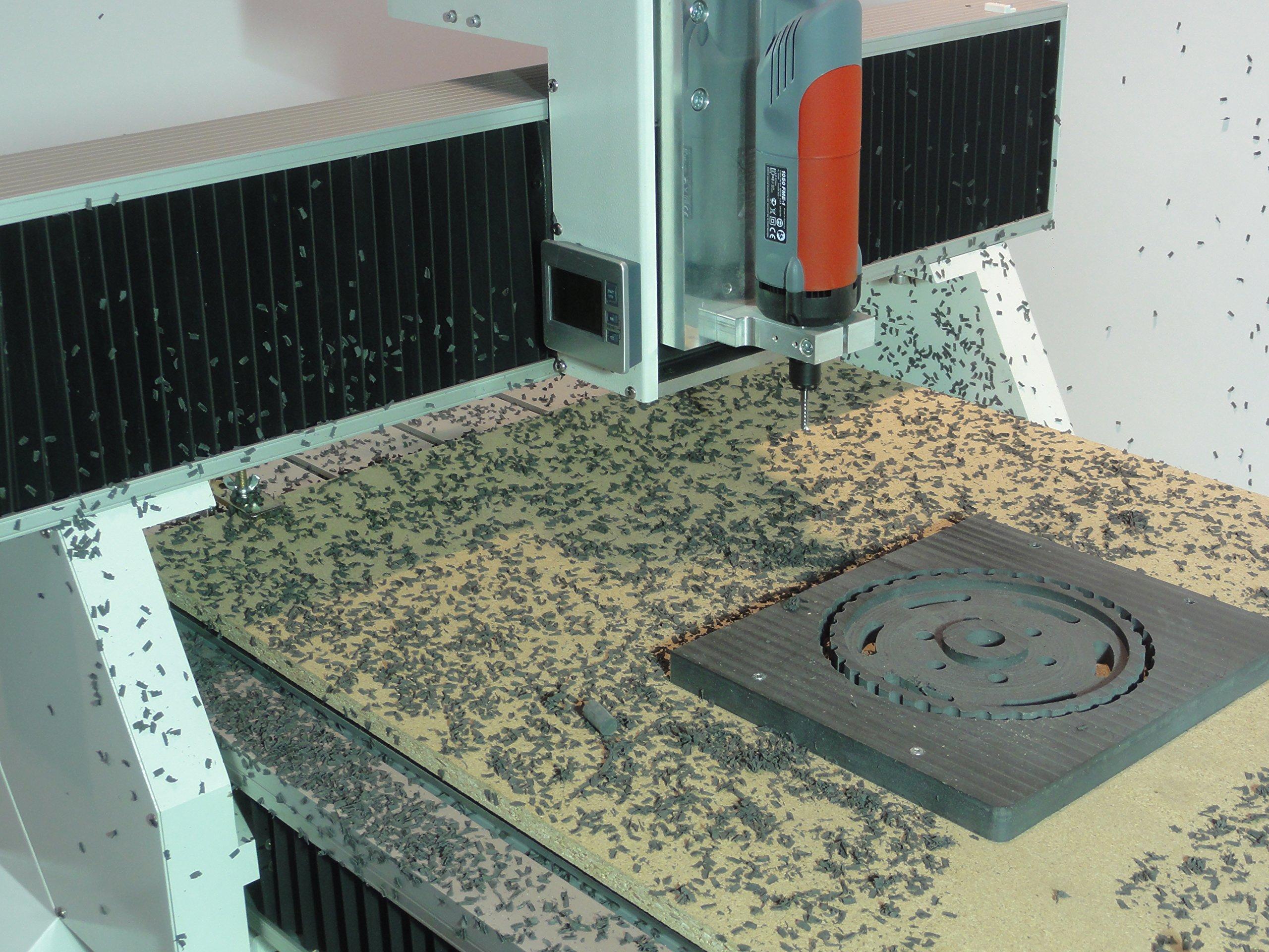 Portalfräsmaschine T-Rex aus Stahl - 900x600mm - CNC-STEP
