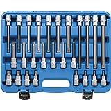 BGS 5180 | Bitinsats | 26 st. | 12,5 mm (1/2 tum) | flertandad inre (för XZN) | CV-stål