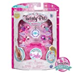 Twisty Petz Twin Four Pack - Collectible Bracelet & Case for Kids, Toys for Girls, 5 Years & Above, Creative, Art & Craft