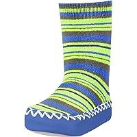 Playshoes Anti-Slip Cotton Socks Stripes Pantofole Unisex-Bambini
