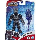 Playskool Heroes Marvel Super Hero Adventures Black Panther, 12 cm groot actiefiguur met spier-accessoire om te verzamelen, v
