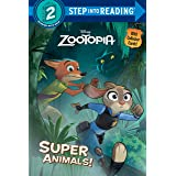 Super Animals! (Disney Zootopia) (Step into Reading)