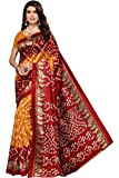 Winza Women's Paithani Art Silk Saree With Blouse