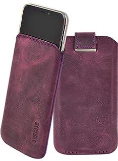 Sleeve H/ülle aus veganem Leder f/ür iPhone 6-8 braun CorkLane Handytasche echt Kork