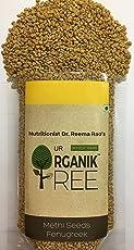 """Our Organik Tree"" ORGANIC Methi/Fenugreek Seeds 200Gms"