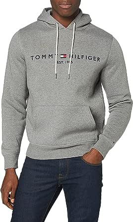 Tommy Hilfiger Tommy Logo Hoody Felpa con Cappuccio Uomo