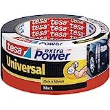 Tesa Extra Power Universele reparatietape 25m:50mm zwart
