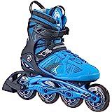K2 Herren Inline Skates VO2 90 Pro M - Schwarz-Blau - 30A0007.1.1