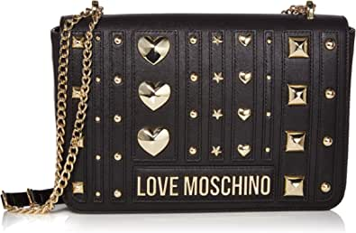 Love Moschino Pu, Borsa a Tracolla Donna, 19x28x6 cm (W x H x L)