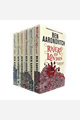 Rivers of London 6 Books Collection Set by Ben Aaronovitch (Rivers of London, Moon Over Soho, Whispers Underground, Broken Homes, Foxglove Summer & The Hanging Tree) Paperback
