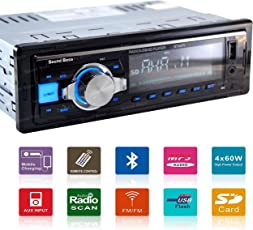 Sound Boss SB-6275BT Bluetooth Wireless With Phone Caller Id Receiver Car Media Player(Single Din)