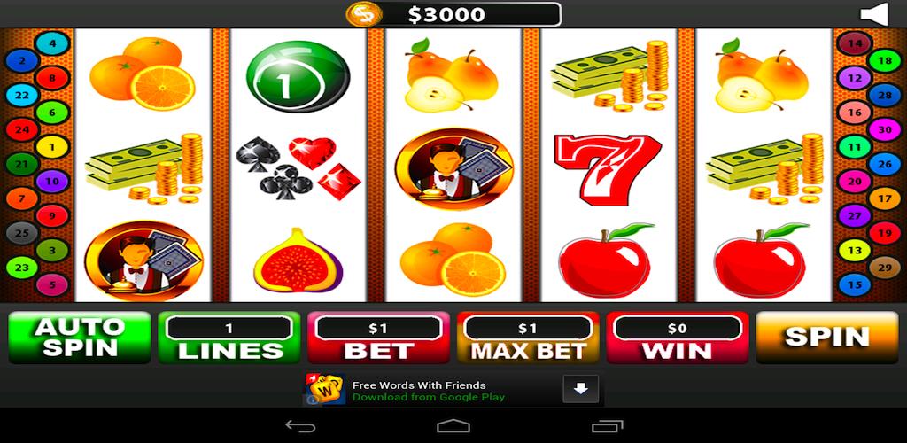 Lucky Fruits Slot Machine
