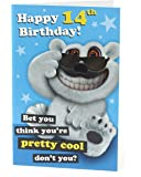 Age 14 Birthday Card - Ideal Gift Card for Kids - Boys Birthday Card - Girls Birthday Card - Birthday Card for 14 Year Old - Teenage Boy Gifts - Teenage Girl Gifts