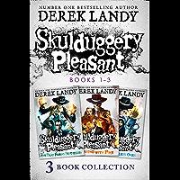 Skulduggery Pleasant: Books 1 – 3: The Faceless Ones Trilogy: Skulduggery Pleasant, Playing with Fire, The Faceless Ones…