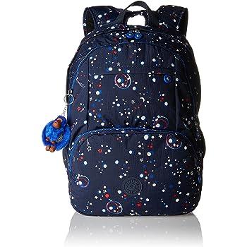 Kipling Hahnee Grand sac à dos Blue Orange Bl (Bleu