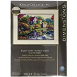 Dimensions Gold Collection: Counted Cross Stitch: English Castle, Cotton, Various, One