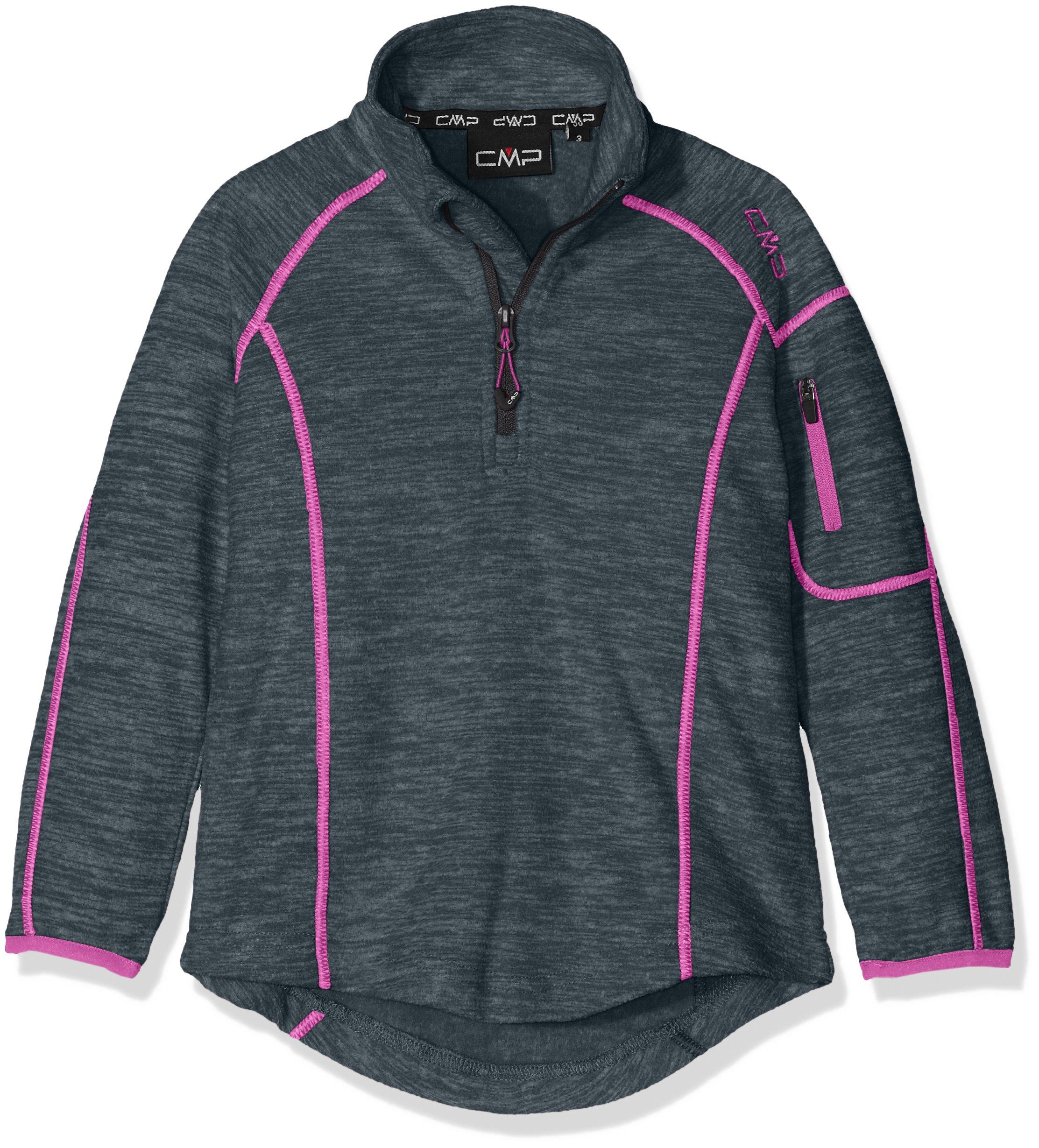 CMP Girls 'Fleece Functional Turtle Neck Sweater, Girls, Fleeceshirt Funktions Rolli 1