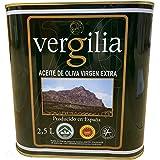 Jaén 100% Picual - Aceite de Oliva Virgen Extra - Premium Reserva Familiar AOVE - Sierra Mágina – Vergilia (2,5 Litros Lata)