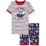 Hatley Organic Cotton Short Sleeve Appliqué Pyjama Sets Conjuntos de Pijama para Niños