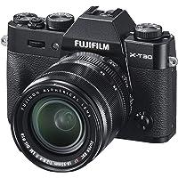 Fujifilm X-T30 Black e Obiettivo XF18-55mm F2.8-4 R LM OIS, Fotocamera Digitale da 26MP, Sensore CMOS X-Trans 4 APS-C…
