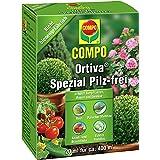 COMPO Ortiva Spezial Pilz-frei, Bekämpfung von Pilzkrankheiten an Zierpflanzen, Rosen und Gemüse, Konzentrat inkl. Messbecher