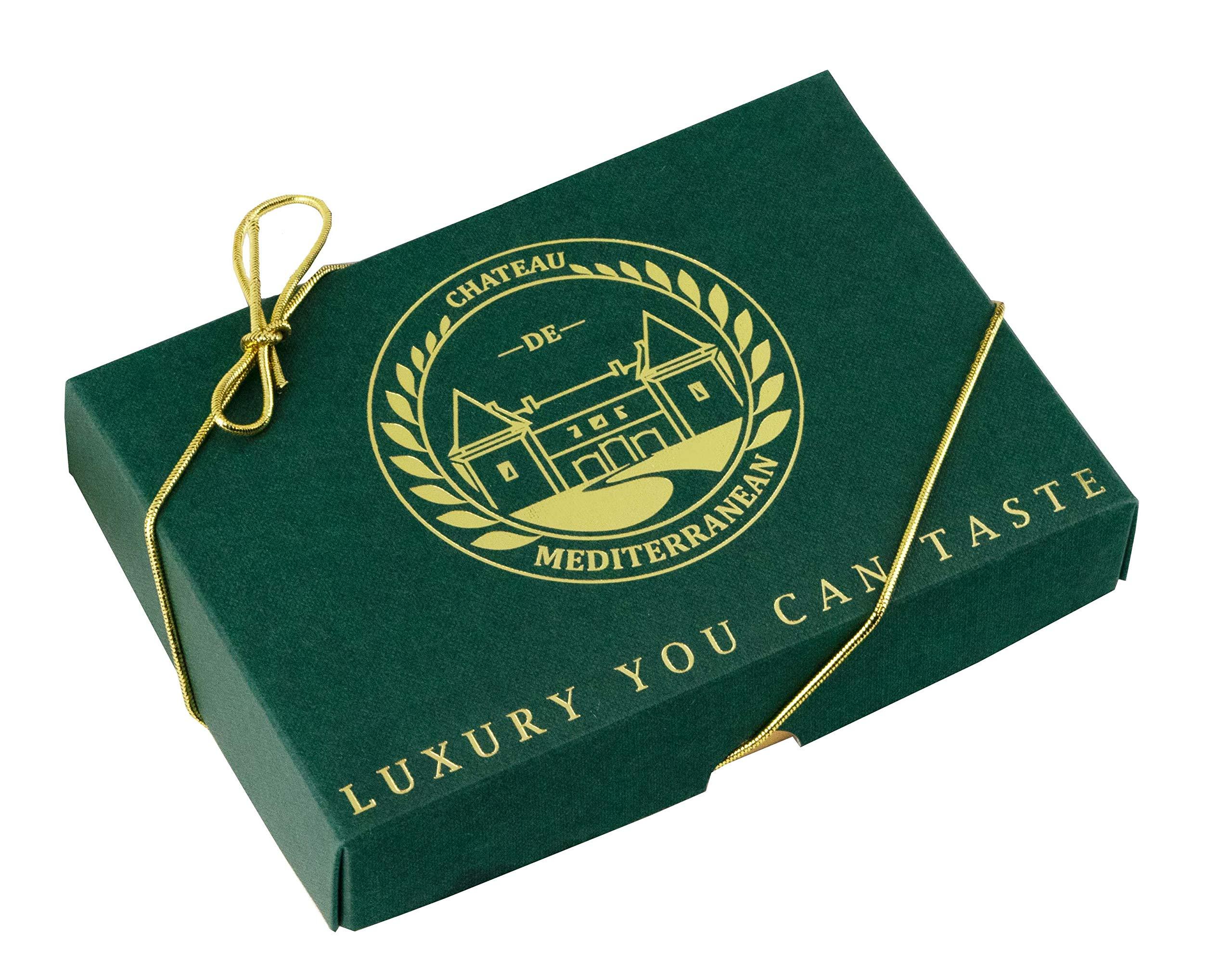 Vegan Baklava Baklawa, 24 Pieces, Chateau de Mediterranean, Gift Box with Ribbon 4