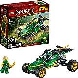 LEGO 71700 Ninjago BuggydelaJungla, Juguete de Construcción con Figura de Acción de Ninja Lloyd con Espada Dorada