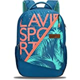 Lavie Sport Beach 34 Ltrs Casual Backpack   School College bag for Boys & Girls (Blue)