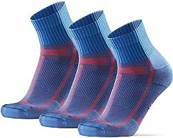DANISH ENDURANCE Calcetines de Running Largas Distancias, para Hombre y Mujer, Acolchados, Transpirables, Calcetines de Atlet