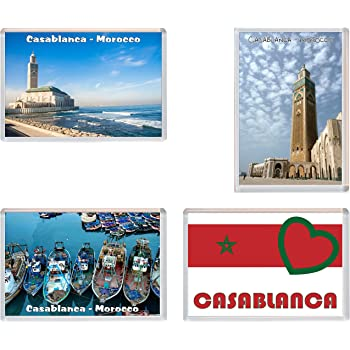 Jumbo Fridge Magnet Souvenir Gift Morocco Marrakesh
