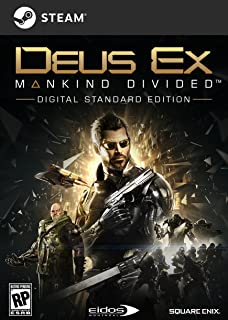 Deus Ex: Mankind Divided [PC Code - Steam] (B01G3YFG4Q) | Amazon price tracker / tracking, Amazon price history charts, Amazon price watches, Amazon price drop alerts