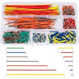 560 Piezas Cable de Puente Breadboard Jumper Wire Kit Dupont Cables Arduino Raspberry Pi Macho a Macho 14 Longitudes con Caja