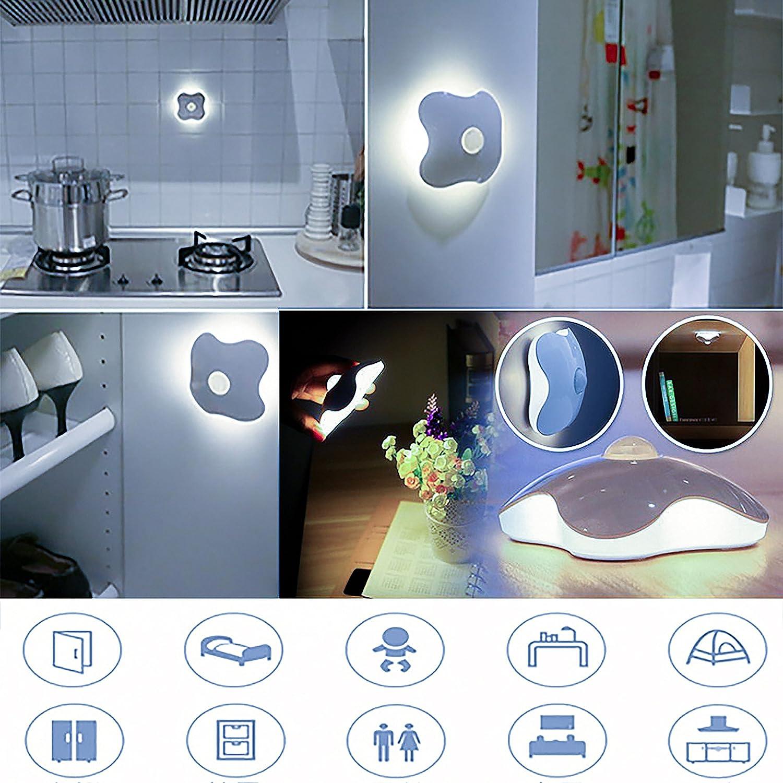 kabellos led nachtlicht mensch k rper bewegungsmelder lampe nachtlampe led licht ebay. Black Bedroom Furniture Sets. Home Design Ideas