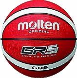 molten Basketball Bgr5-RW Rot/Weiß, 5
