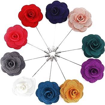 a da Mano 15 Uomo Camellia Spilla all'Occhiello Pezzi Fiore Fatto x4E4q6XwY