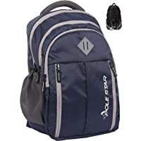 """Polestar Enzo 35 Liters Polyester Navy 15.6"""" Casual Laptop Bag/Backpack With Rain Cover"""