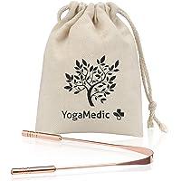 YogaMedic® Gratte-langue BASIC [1x] 100% cuivre contre la mauvaise haleine – naturellement antimicrobien – Ayurveda…