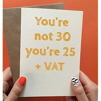 30th Birthday Card Funny Best Friend
