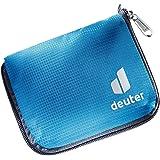 DEUTER Unisex Zip Wallet Purse, One Size Blue Size: 10 x 13 cm