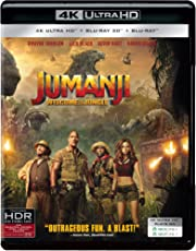 Jumanji: Welcome to the Jungle (4K UHD + Blu-ray 3D + Blu-ray) (3-Disc)